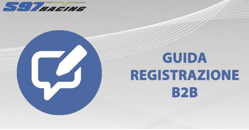 Guida per l'accesso al B2B di S97 RACING