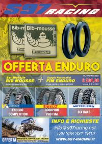 Offerta Off-Road: Coppia Bib-Mousse + Set Pneumatici Enduro